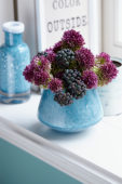 Allium and Hedera bouquet