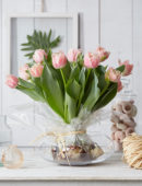 Tulipa Queensland bulb bouquet