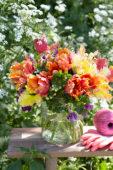 Tulipa Parrot boeket