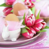 Easter breakfast arrangement