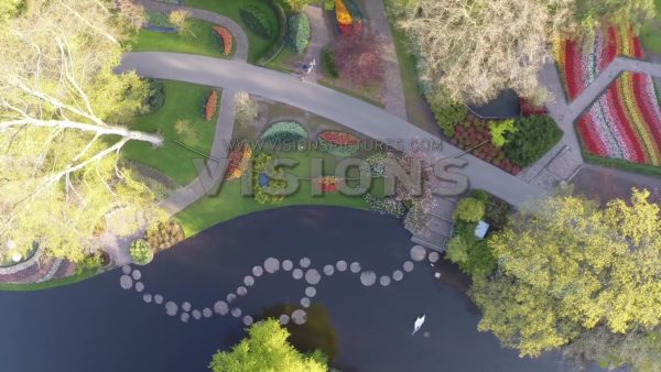 VIDEO Keukenhof, spring garden