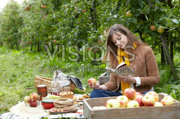 Orchard picnic