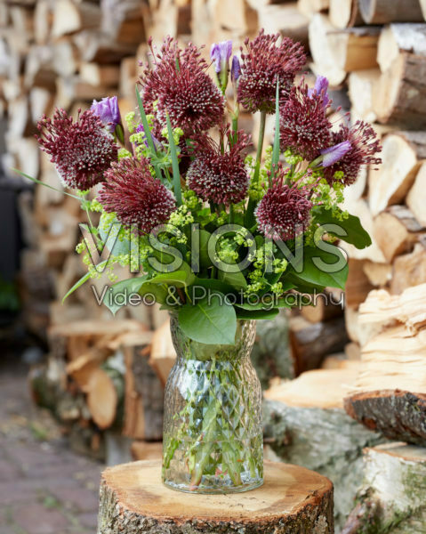 Allium bouquet